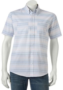 Ocean Current Men's Seahorse Button-Down Shirt