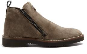 Giuseppe Zanotti Austin suede ankle boots