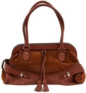 Max Mara Brown Suede Handbag