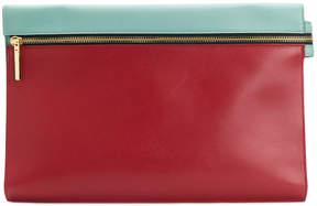 Victoria Beckham zip clutch bag