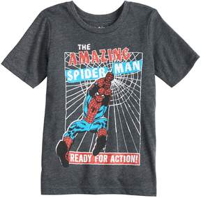 Spiderman Boys 4-10 Jumping Beans Marvel The Amazing Graphic Tee