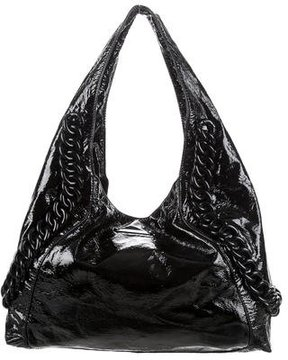 MICHAEL Michael Kors Large ID Chain Hobo - BLACK - STYLE