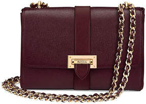 Aspinal of London Large Lottie Bag In Burgundy Saffiano