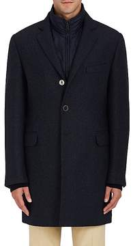 Fay Men's Layered Wool-Cashmere Jacket