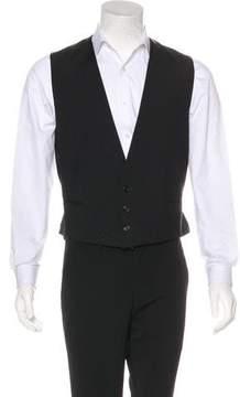 Christian Dior Virgin Wool Suit Vest