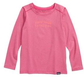 Patagonia Toddler Girl's Capilene Print Shirt