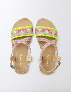 Boden Embroidered Sandals