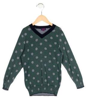 Paul Smith Boys' Striped Polka Dot Sweater