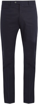 J.w.brine J.W. BRINE Johan straight-leg stretch-cotton chino trousers