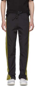 Cottweiler Black Contrast Panel Lounge Pants