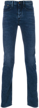 Denham Jeans faded detail jeans