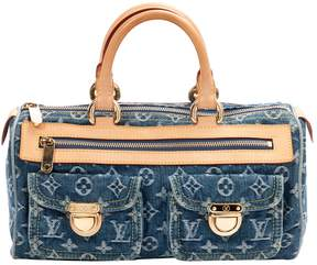 Louis Vuitton Speedy bowling bag - BLUE - STYLE