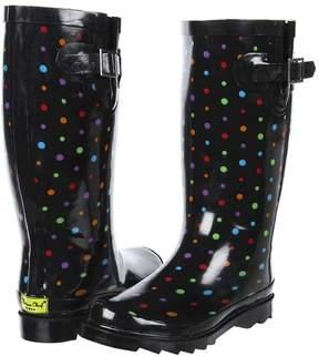 Western Chief Disty Dot Women's Rain Boots