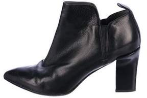 Reed Krakoff Leather Pointed-Toe Ankle Boots