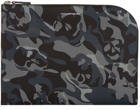 Alexander McQueen Camouflage Leather Pouch