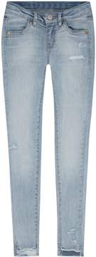 Levi's Girls 7-16 710 High-Low Hem Super Skinny Jeans