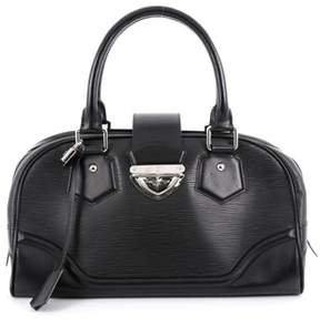 Louis Vuitton Pre-owned: Montaigne Bowling Bag Epi Leather Gm. - BLACK - STYLE