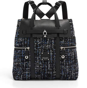 Henri Bendel Jetsetter Tweed Backpack