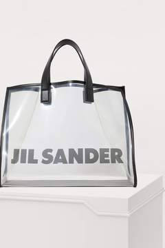Jil Sander See-through tote bag