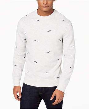 Club Room Men's Whale-Embroidered Sweater, Created for Macy's