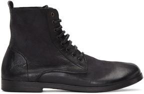 Marsèll Black Lista Combat Boots