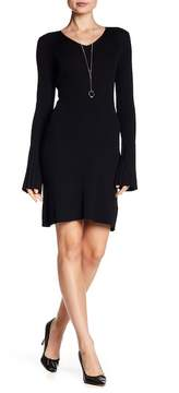 Laundry by Shelli Segal Ribbed Bodycon Sweater Dress
