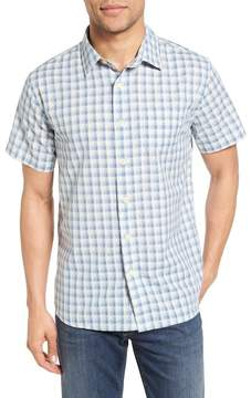 Grayers Grange Trim Fit Shadow Gingham Sport Shirt