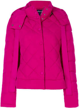 Armani Jeans quilted puffer jacket