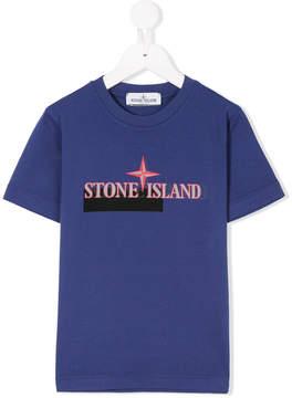 Stone Island Junior branded T-shirt