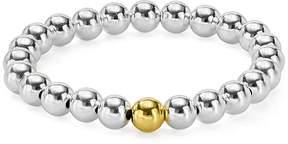 Aqua Beaded Stretch Bracelet - 100% Exclusive