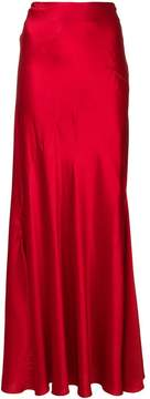 Alberta Ferretti loose fit long skirt