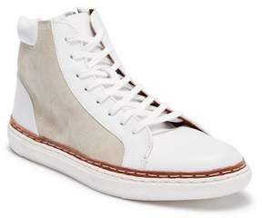 Crevo Playa Leather High-Top Sneaker