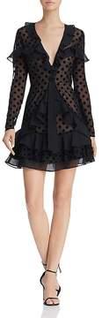 For Love & Lemons Dotty Mini Dress