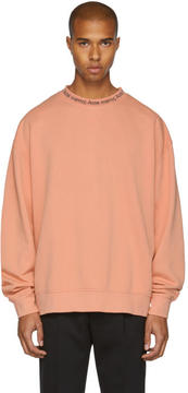 Acne Studios Pink Yana Sweatshirt