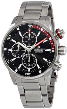 Maurice Lacroix Pontos S Chronograph Automatic Black Dial Men's Watch