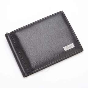 Royce Leather ROYCE RFID Blocking Money Clip Credit Card Wallet in Genuine Saffiano Leather