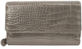 Mundi Croc Big Fat Wallet