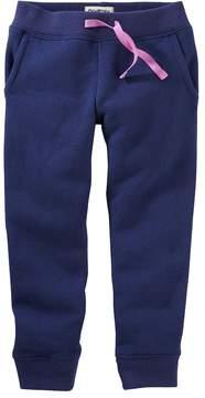 Osh Kosh Baby Girl Fleece Jogger Pants