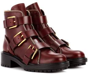 Balmain Ambra leather ankle boots