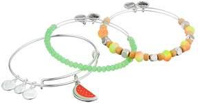 Alex and Ani Color Infusion One in a Melon Bracelet Set of 3 Bracelet