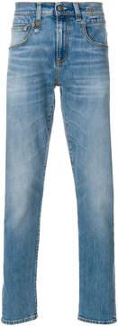 R 13 slim fit jeans