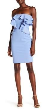 Alexia Admor Strapless Ruffle Dress