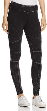 Andrew Marc Performance Faded Moto Leggings