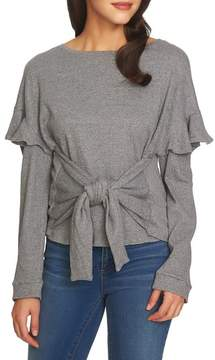 1 STATE 1.STATE Tie Front Knit Top
