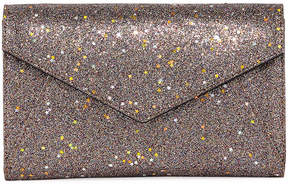 Neiman Marcus Star Glitter Envelope Clutch Bag