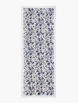 Talbots Floral Scarf