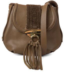 Kooba Sedona Braided Crossbody Bag, Brandy