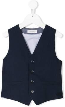 Paolo Pecora Kids two-tone vest