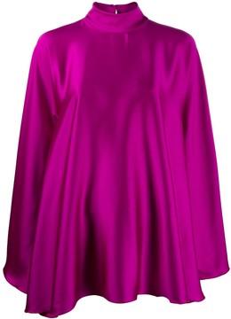 Styland high-neck draped dress