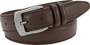 Florsheim Leather Double Stitched Edge Belt (Men's)